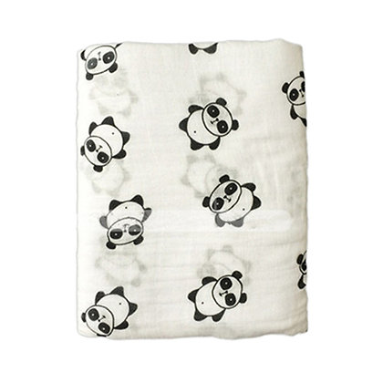 Muslin Swaddle - Panda