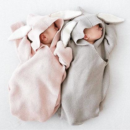 Rabbit Swaddling Blanket Newborn - 6 months