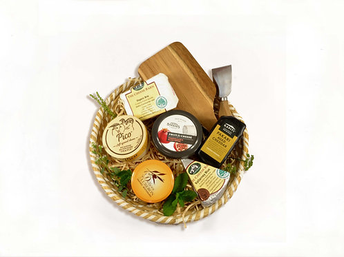 Selection of Cheeses Gift Basket