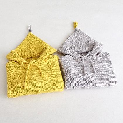 Tassel Hood Pullover