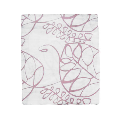 Muslin Swaddle - Pink Floral