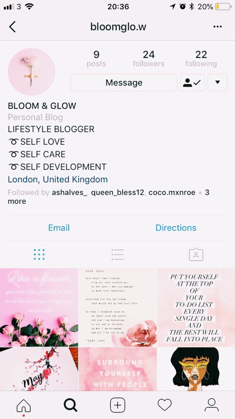 IG: bloomglo.w - Black British Blogegers