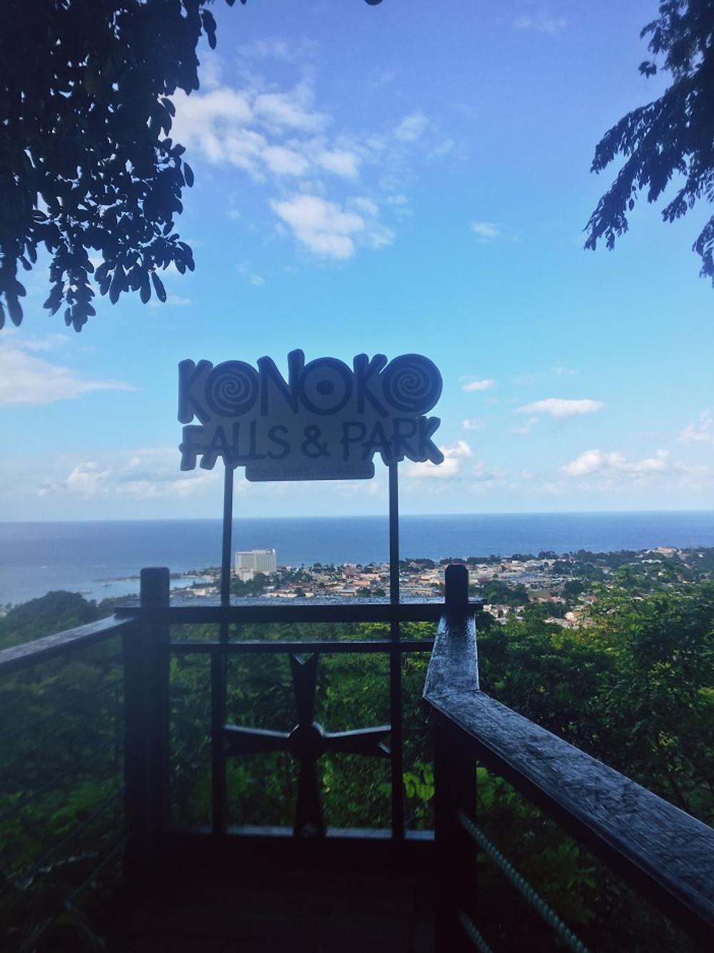 konoko falls jamaica Ocho Rios