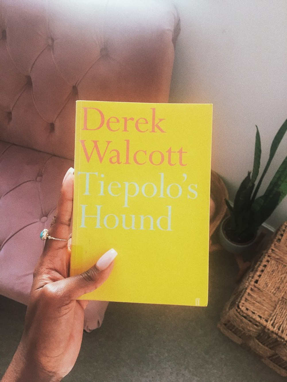 Derek walcott Tiepolo's hound what I'm reading