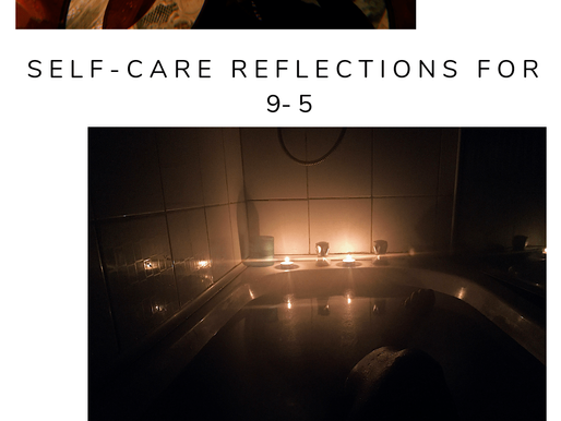 guest post | self-care reflections for 9-5ers with Ash Alves