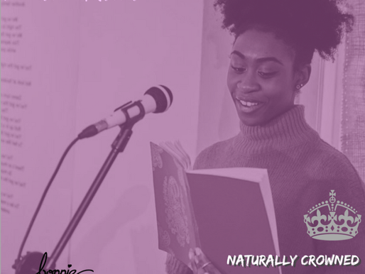 Poetry | Black Womxn, Self-Love, Natural Hair at the 'Naturally Crowned' Event