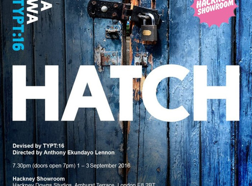 A new journey: TYPT:16 writer/deviser for Talawa Theatre