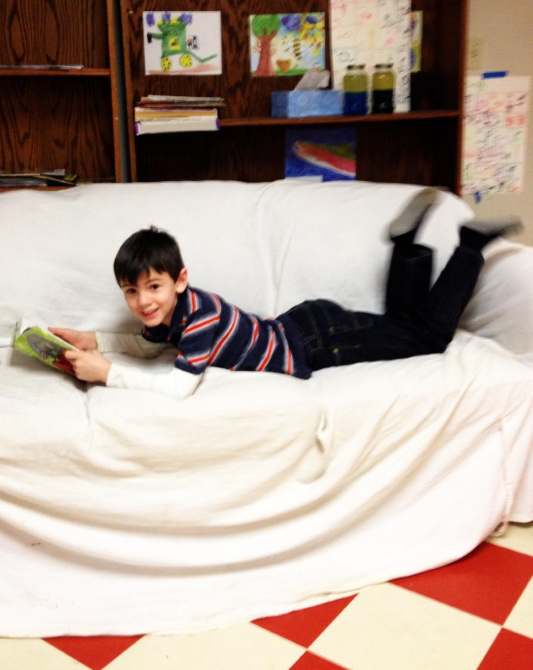 Book Worm Boy