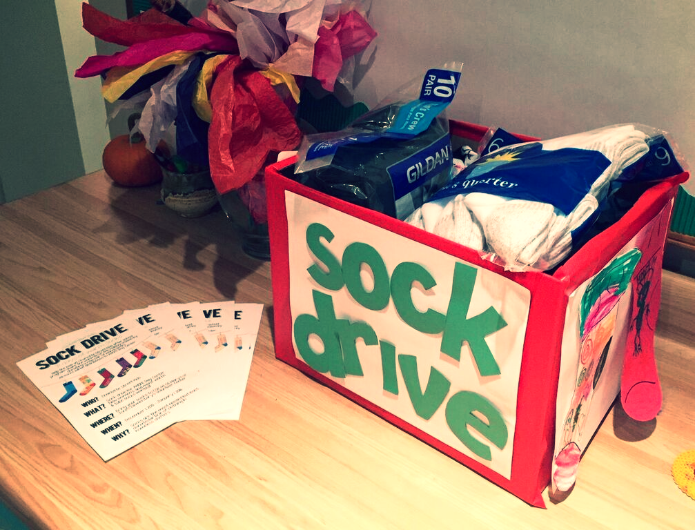 Sock drive for folks in need