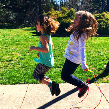 Jumpin' Rope in the Sunshine