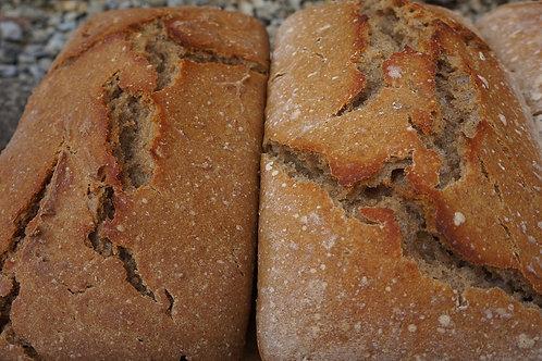 Sourdough Whole Wheat Loaf