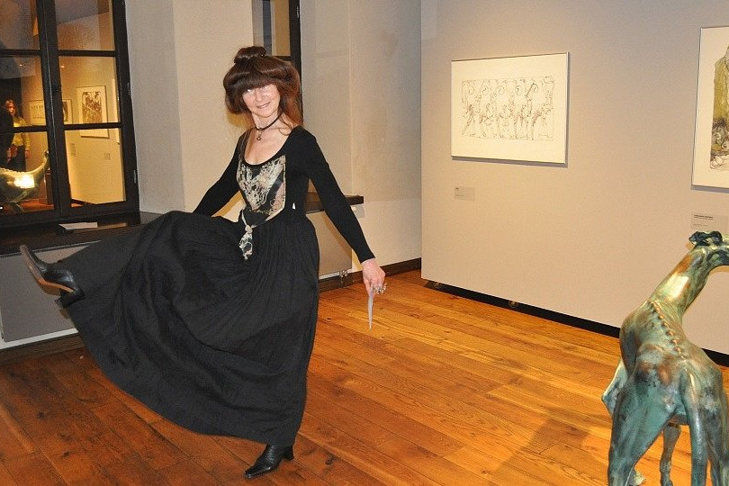 """Opening of the exhibition """"The Garden of Forking Paths"""""""