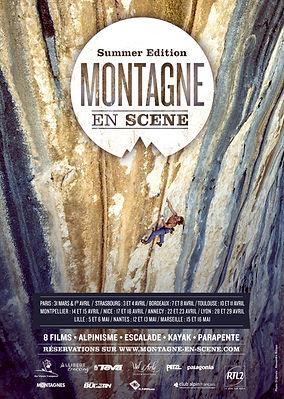 Affiche Montagne en Scène Summer Edition 2014