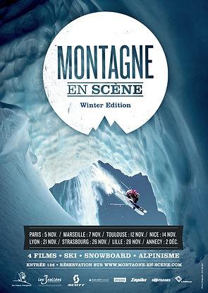 Affiche Montagne en Scène Winter Edition 2013