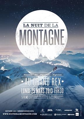 Affiche Montagne en Scène (Nuit de la Montagne)