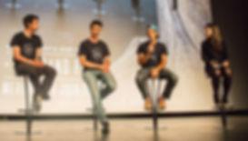 Kilian Jornet, Sébastien Montaz-Rosset, Jordi Tosas à Paris
