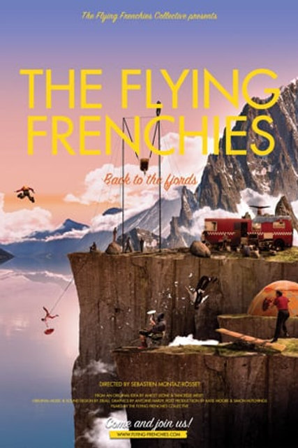 DVD The flying frenchies - Sébastien Montaz-Rosset