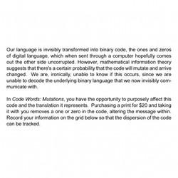 Code Words: Mutations