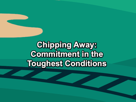 The Par Train Podcast Episode #134: Chipping Away - Commitment in the Toughest Conditions