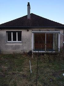 façade maison renovation peinture terrasse