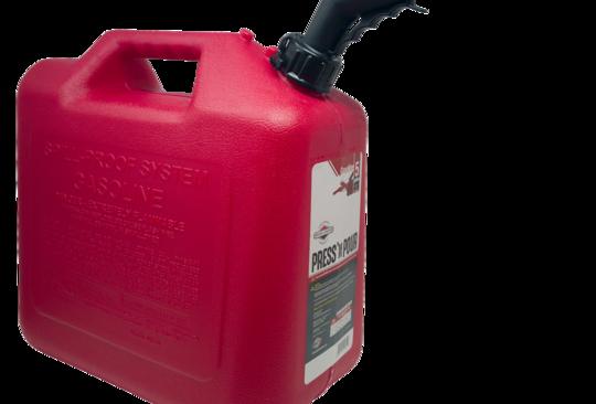 GarageBOSS™ Press 'N Pour 5 Gallon Gas Can