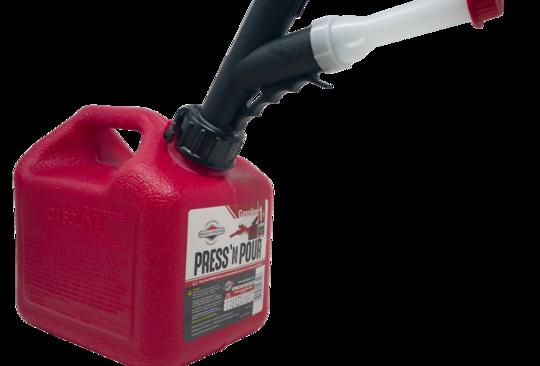GarageBOSS™ Press 'N Pour 1+ Gallon Gas Can