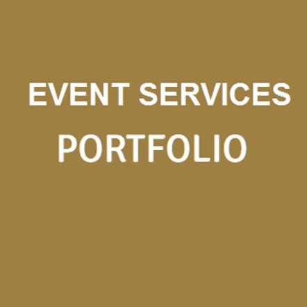 Event Services PORTFOLIO