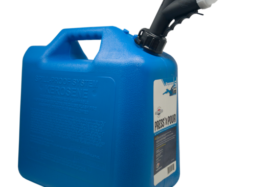 GarageBOSS™ Press 'N Pour 5 Gallon Kerosene Can