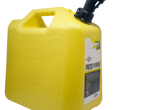 GarageBOSS™ Press 'N Pour 5 Gallon Diesel Can