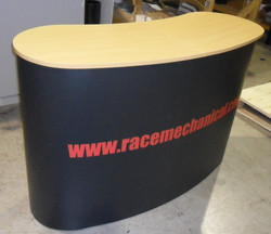 Curved Counter