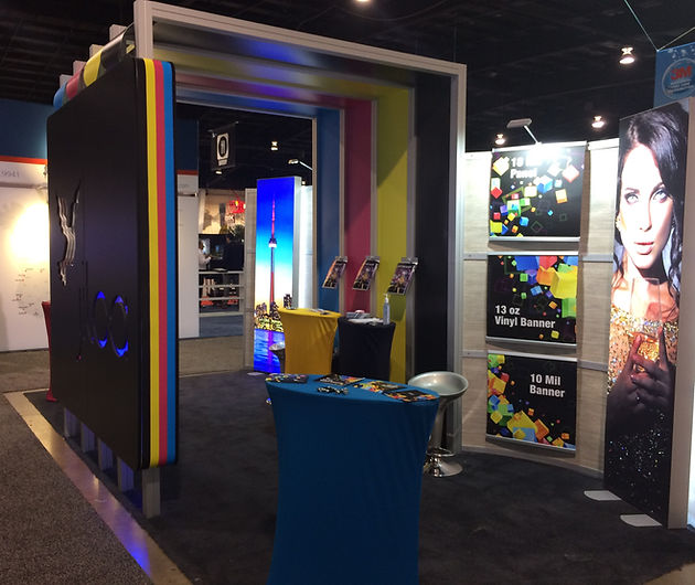 "Jilca International Wins ""Best Booth"" Award at this year's Sign Expo"