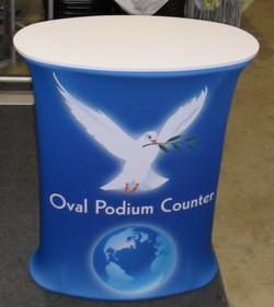 Oval Podium