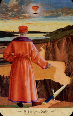 The Grail Seeker - Tarot Card - A Templar Vision