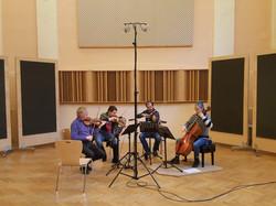 In the recording studio Martinek, Prague