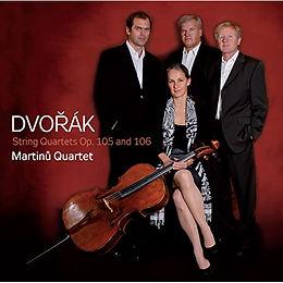 Antonín Dvořák : String Quartets op. 105 and 106