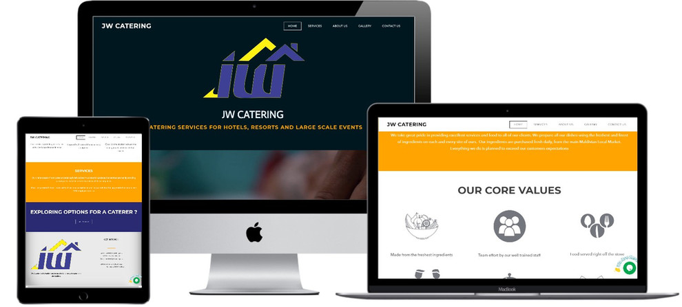 Treewares makes JW Catering Website