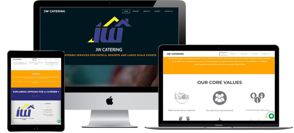 Treewares makes JW Catering Website