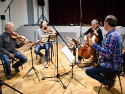 In the recording studio Domovina, Prague