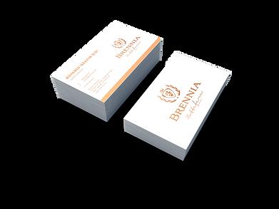 Treewares making Branier Business Cards