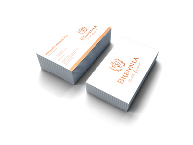 Treewares making Branier Business Cards