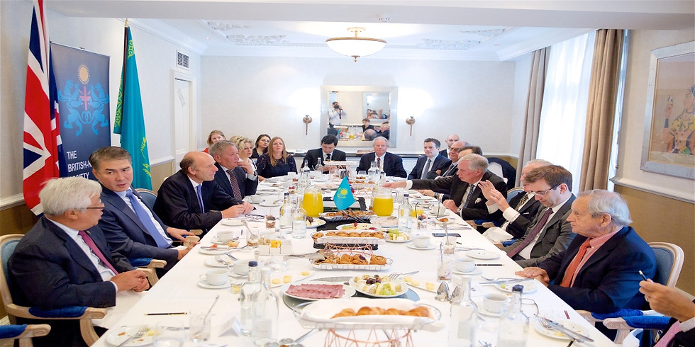 Business Breakfast to Celebrate the visit of HE Erzhan Kazykhanov