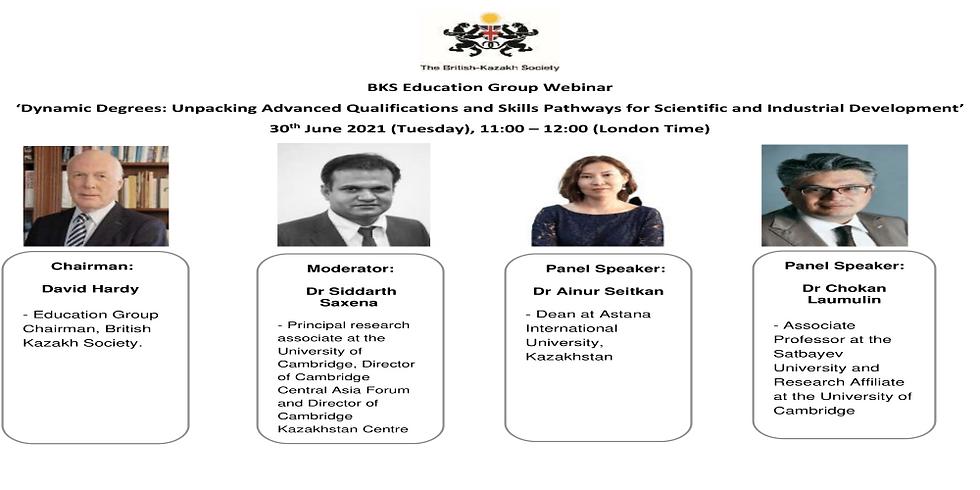 BKS Webinar: Education Group Webinar