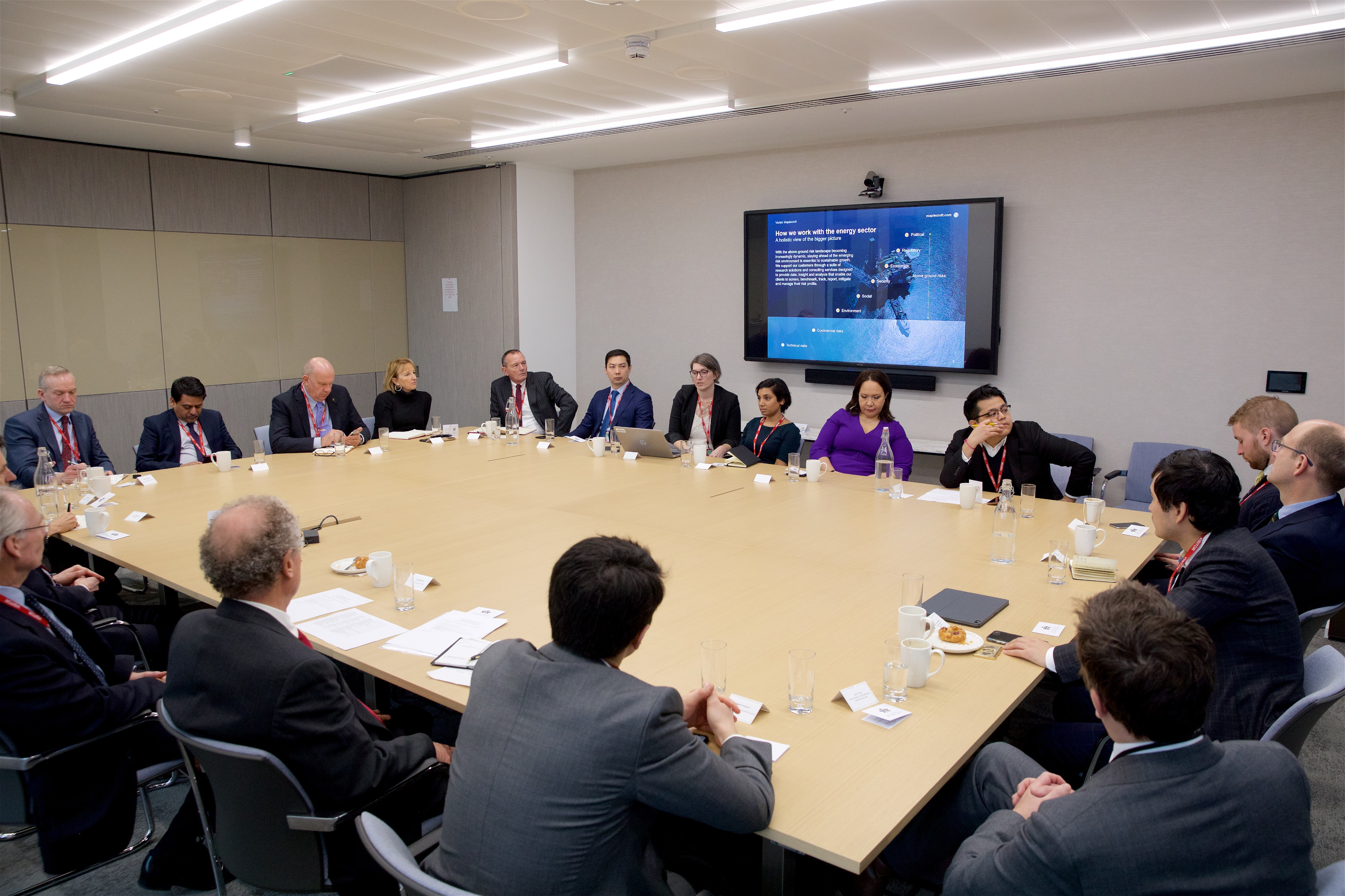 Oil & Gas Roundtable discussion