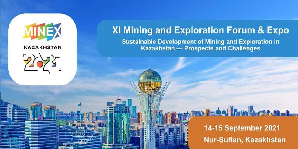 MINEX Kazakhstan 2021 - 11th Mining and Exploration Forum