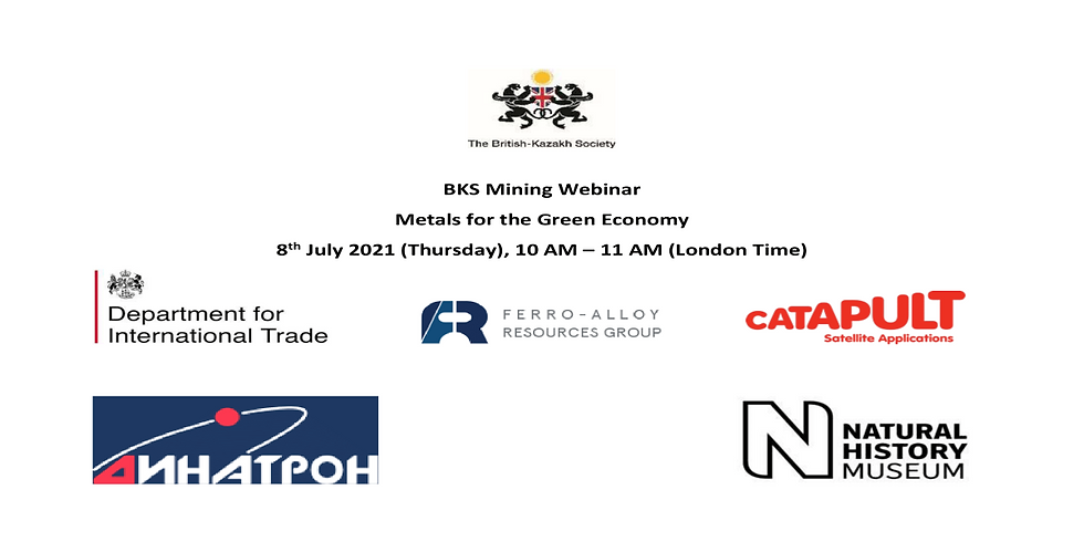 BKS Webinar: Metals for the Green Economy