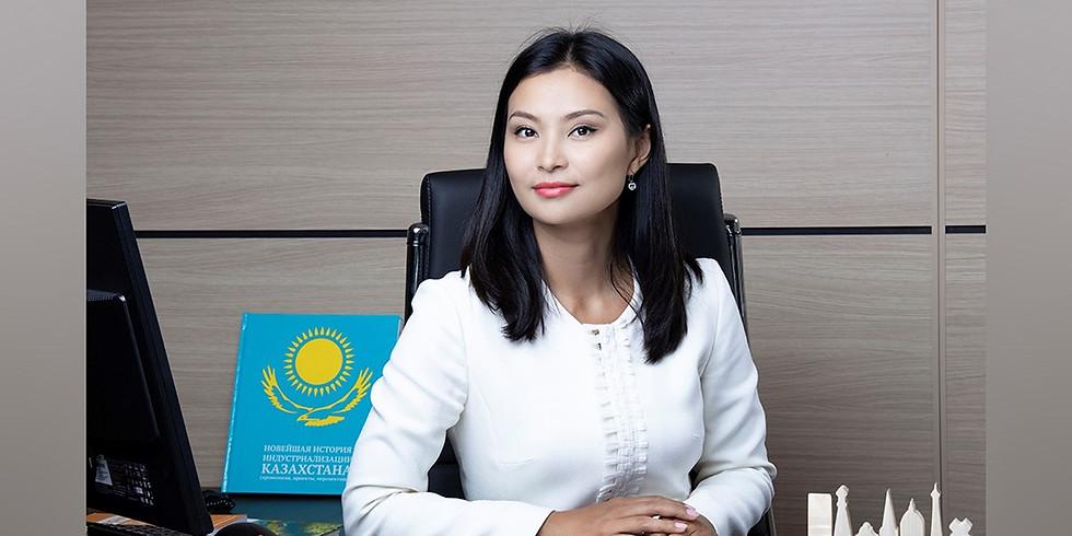 A conversation with Vice Minister - Assel Zhanassova