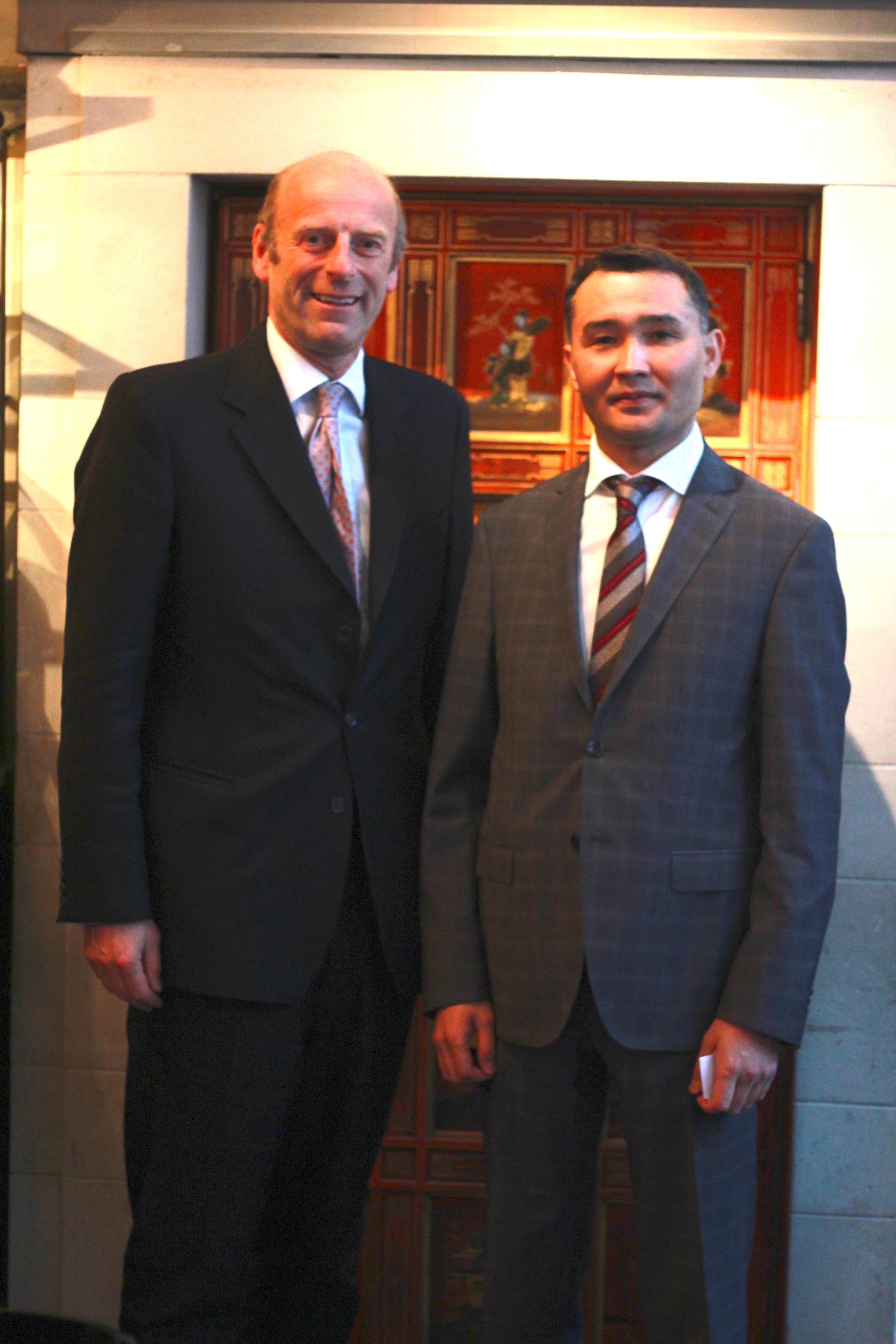 Rupert Goodman and Saparbek Tuyakbay