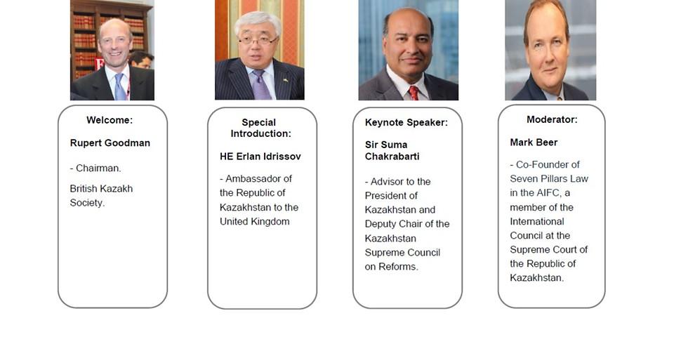 BKS Webinar: Kazakhstan at 30 - What next? A conversation with Sir Suma Chakrabarti