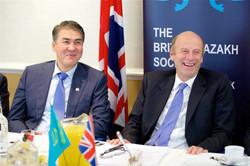 Asset Issekeshev and Rupert Goodman