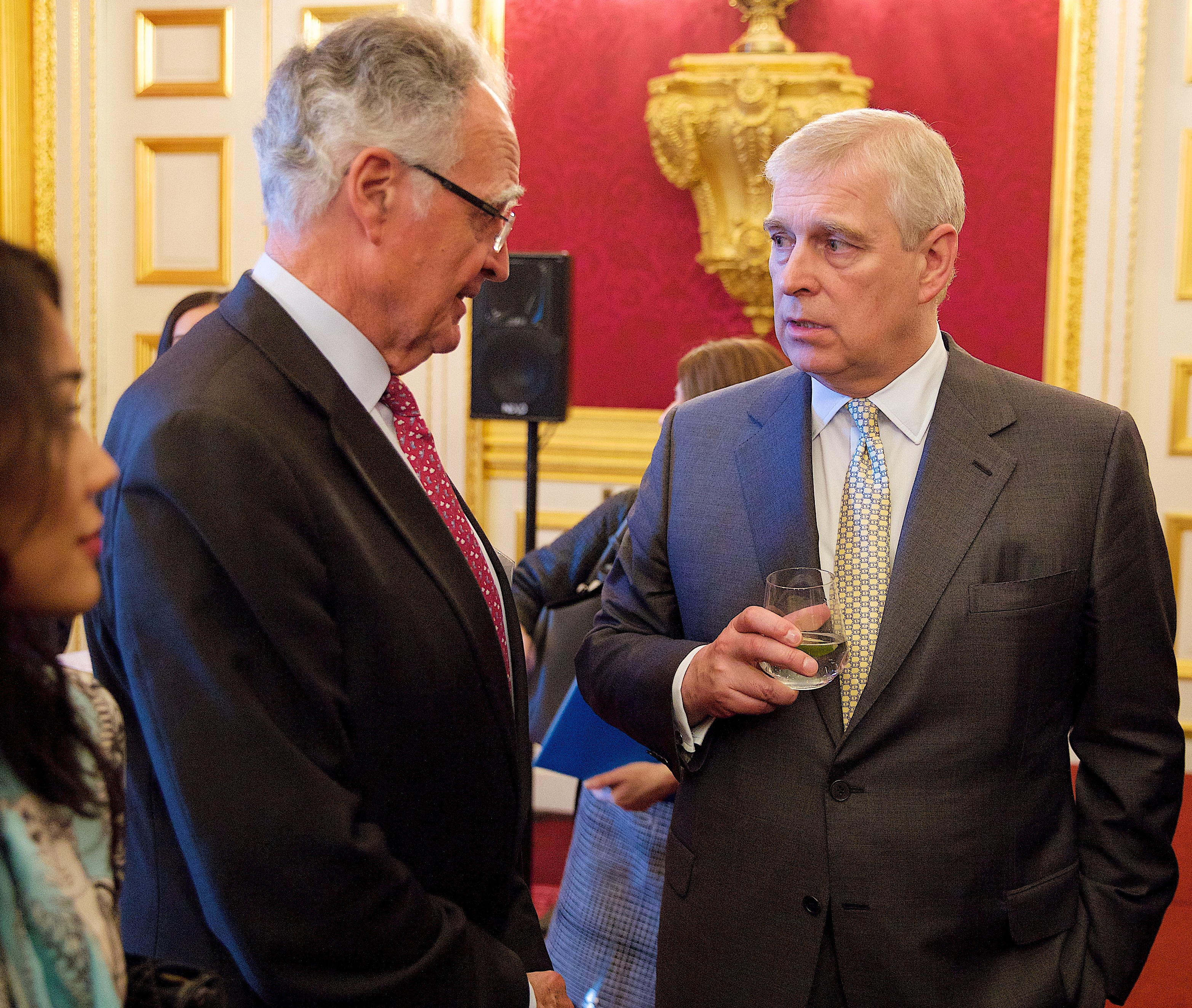 Peter Hambro and The Duke of York